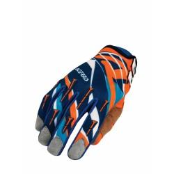 Acerbis Kesztyű MX-X2 XXL kék-narancs