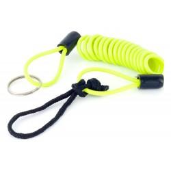 Emlékeztető kábel spirál fluo sárga