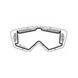 Lencse cross szemüveghez (enduro) (dupla lencse) átlátszó