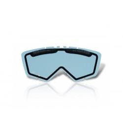 Lencse cross-szemüveghez (enduro) (dupla lencse) kék