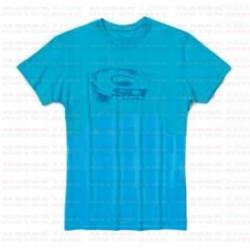 Póló skin XL Kék (világos)