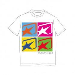 T-shirt memorial M Fehér