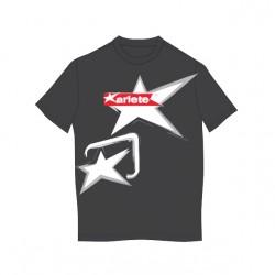 T-shirt ariete L Fekete