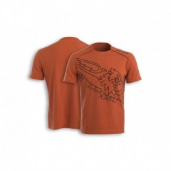 T-shirt Bar Code M Narancs