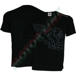 T-shirt Bar Code M Fekete