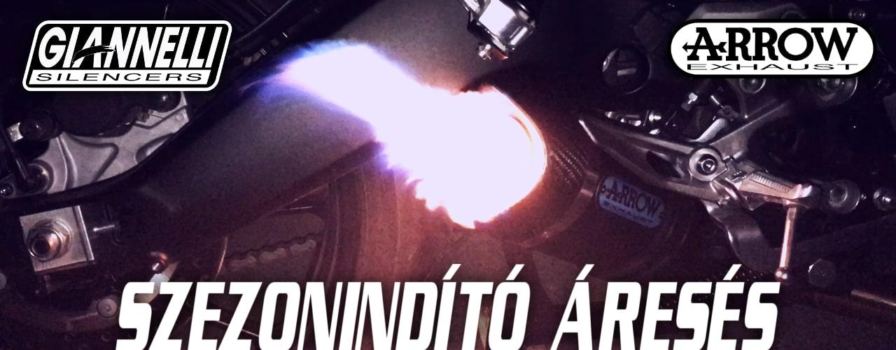 Szezonindító áresés! - Arrow- Giannelli kipufogó