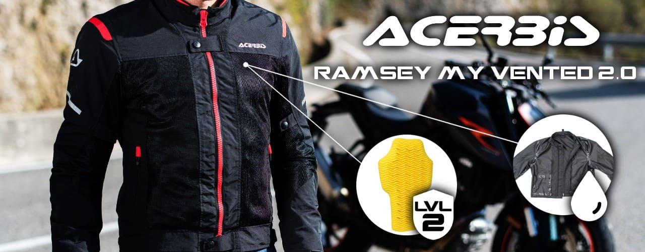 Acerbis Ramsey My Vented 2.0 hálós kabát